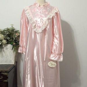 ⭐️NWT Vintage  Ilise Stevens Dress NightGown/L⭐️